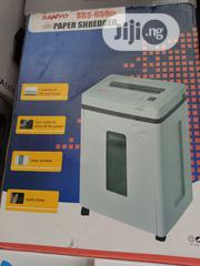 Sanyo Paper,Cd And Card Shredder 650ci | Stationery for sale in Lagos State, Ikeja