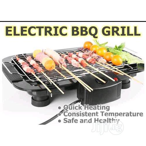 Electric Barbeque Non-stick Grill | Kitchen Appliances for sale in Lagos Island, Lagos State, Nigeria