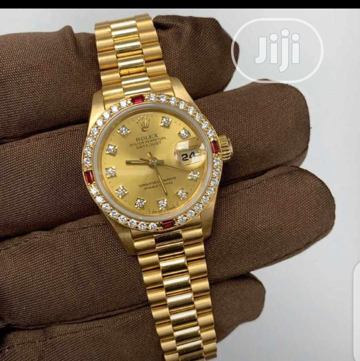 Pure Real Gold 750 Italy 18karat Rolex Watch