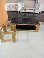 Quality Centre Table And 2 Side Stools | Furniture for sale in Lagos State, Ojo