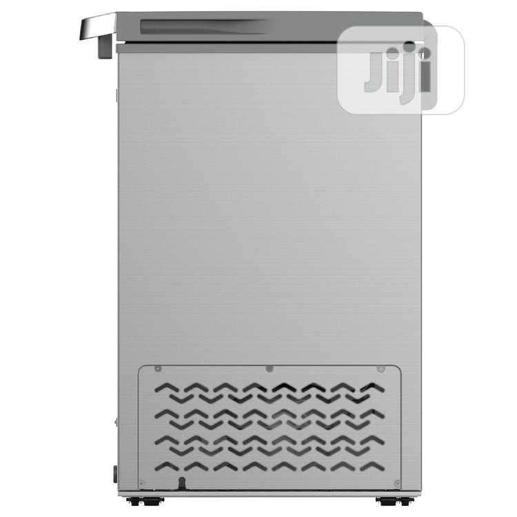 Syinix Chest Freezer (145L) Silver | Kitchen Appliances for sale in Surulere, Lagos State, Nigeria