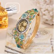 Female Flowery Watch - Blue | Watches for sale in Lagos State, Ipaja