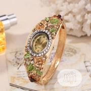 Female Flowery Watch - Green | Watches for sale in Lagos State, Ipaja