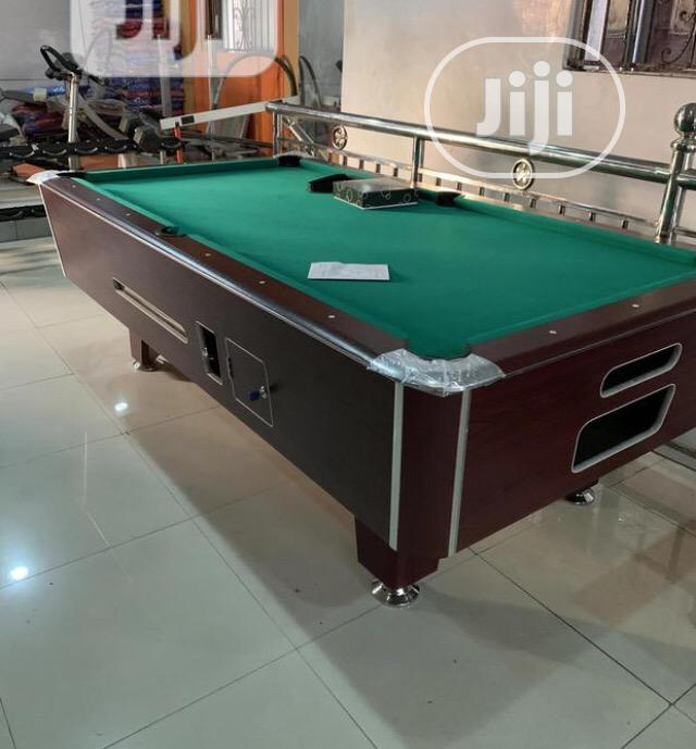 Marble Coin Snooker Board Table