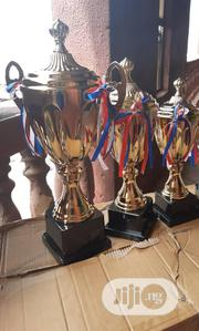 3 Set Of Gold Trophy. | Arts & Crafts for sale in Lagos State, Surulere