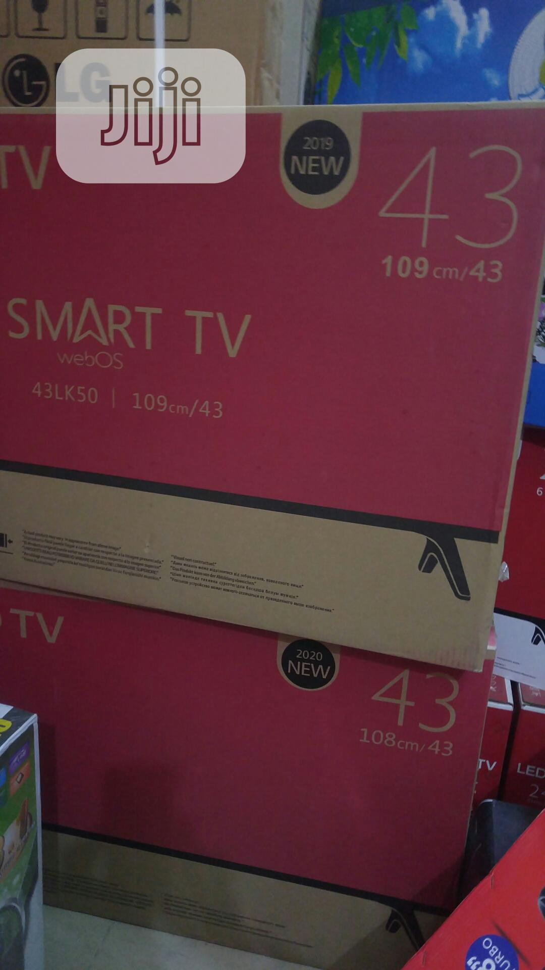 LG 43 Inches Smart Television | TV & DVD Equipment for sale in Ojo, Lagos State, Nigeria