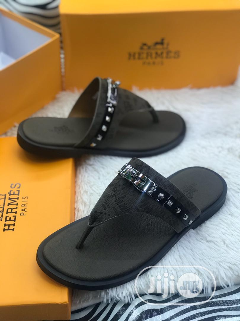 Hermes Slippers Original | Shoes for sale in Surulere, Lagos State, Nigeria