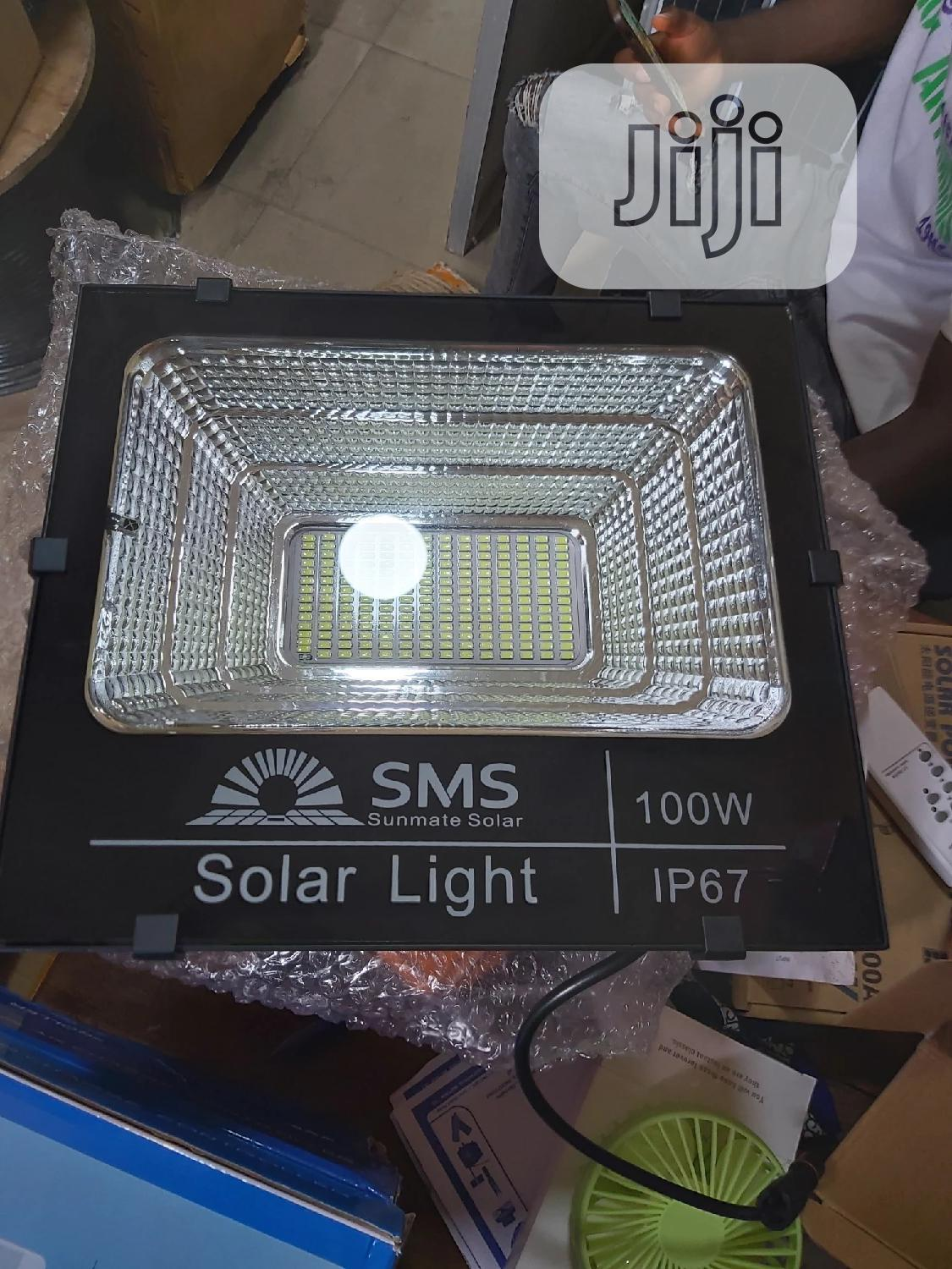 100watts SMS Flood Lights | Solar Energy for sale in Ojo, Lagos State, Nigeria