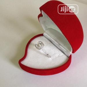 Luxury Engagement Ring With Case   Wedding Wear & Accessories for sale in Lagos State, Surulere
