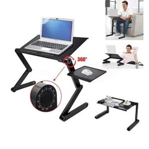 T8 Adjustable Laptop Table Wit Usb Cooler Fan/Mouse Pad Tray | Computer Accessories  for sale in Lagos State, Surulere