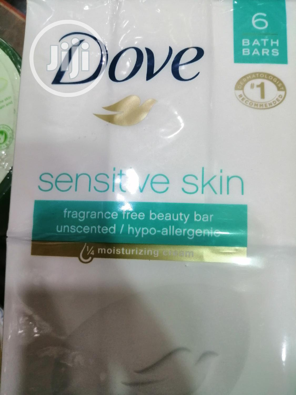 Archive: 6pcs Dove Beauty Bar For Sensitive Skin