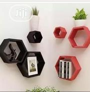 6 In 1 Hexagonal Floating Shelves | Furniture for sale in Lagos State, Surulere