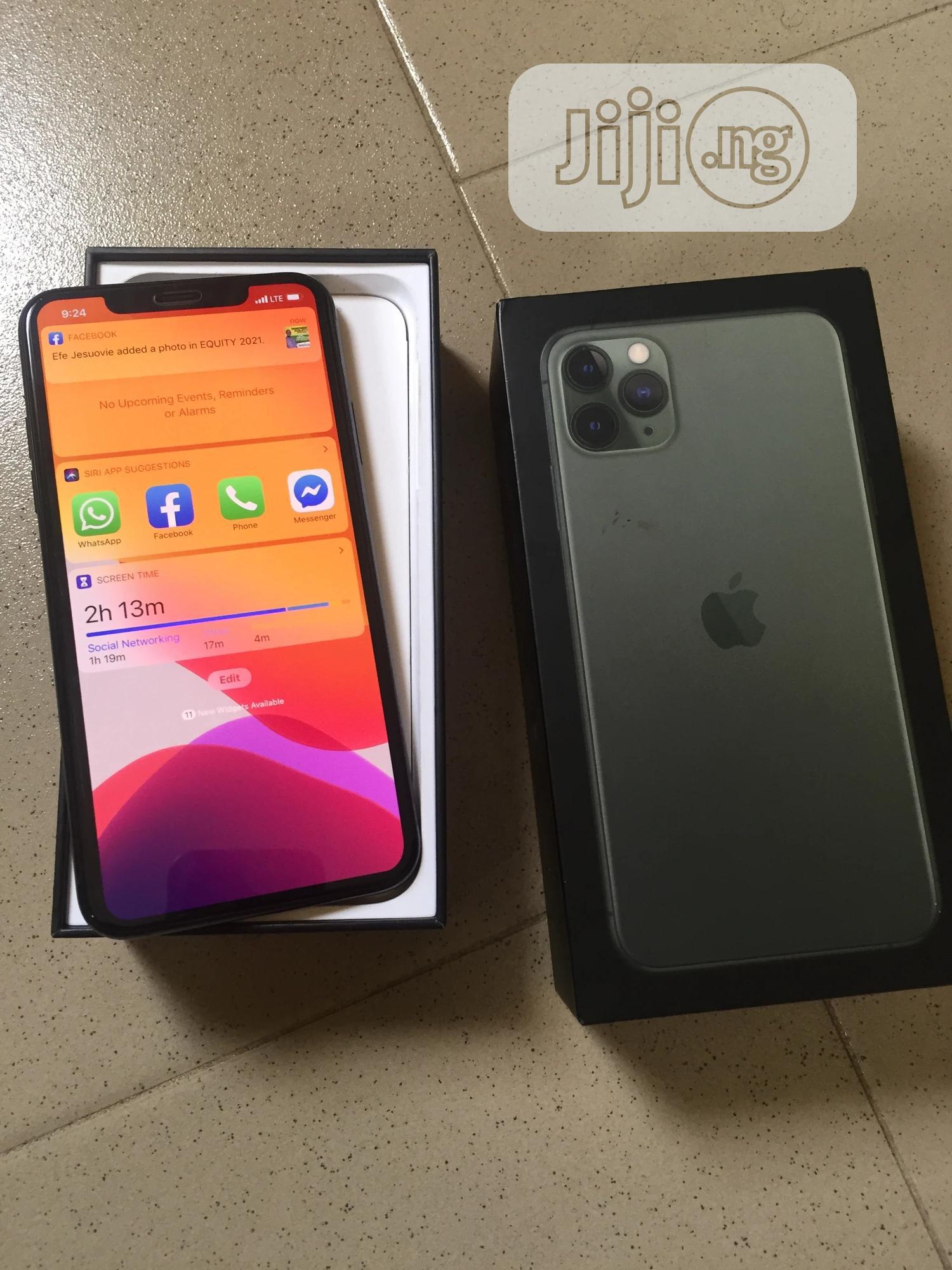 Apple iPhone 11 Pro Max 64 GB Green | Mobile Phones for sale in Oshimili South, Delta State, Nigeria