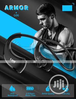 Dacom ARMOR Sport Wireless Headphones Waterproof Bluetooth Earphone   Headphones for sale in Lagos State, Ikeja