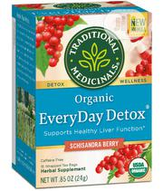 Organic Everyday Detox Tea With Schisandra Berry, 16 Bags | Vitamins & Supplements for sale in Lagos State, Lekki Phase 1