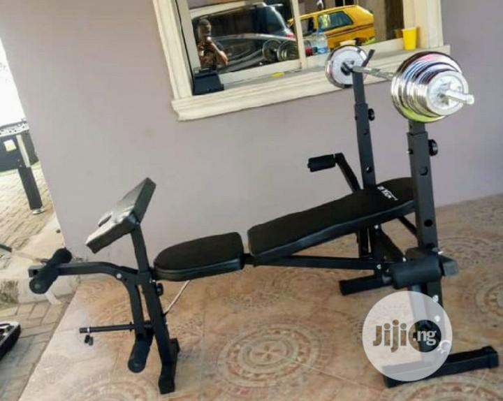 Weight Bench(With 50 Kg Weights)