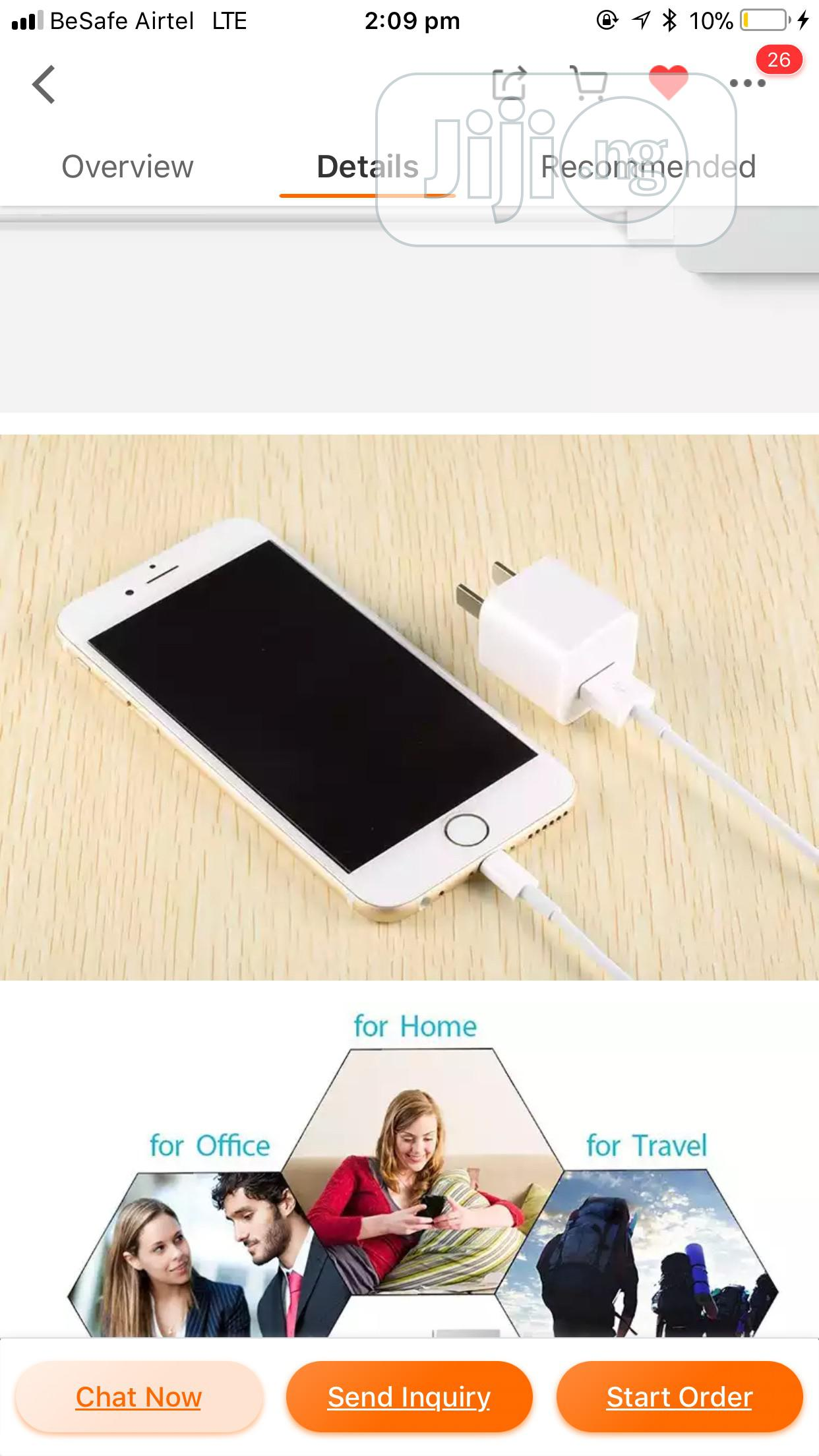 Original iPhone Charging Cable | Accessories for Mobile Phones & Tablets for sale in Enugu, Enugu State, Nigeria