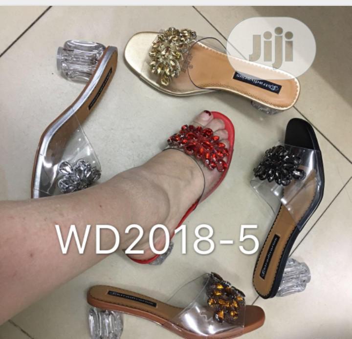 The Block Heel Slippers
