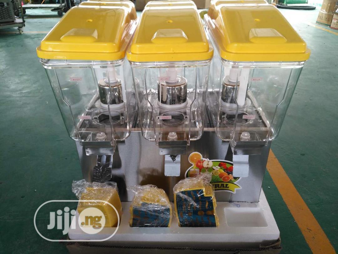 Juice Dispenser 3 Chambers