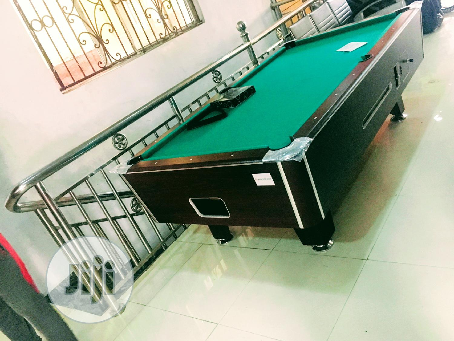 Marble Coin Snooker Table (American Quality)