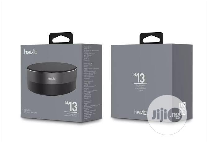 HAVIT M13 Bluetooth Speaker With SD Card Slot Aux