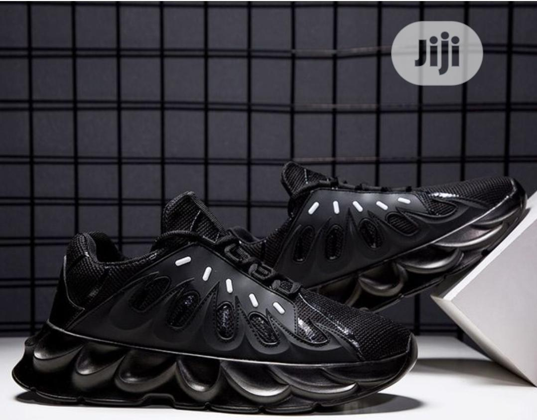 Volcano Unisex Sneakers- Black | Shoes for sale in Magodo, Lagos State, Nigeria