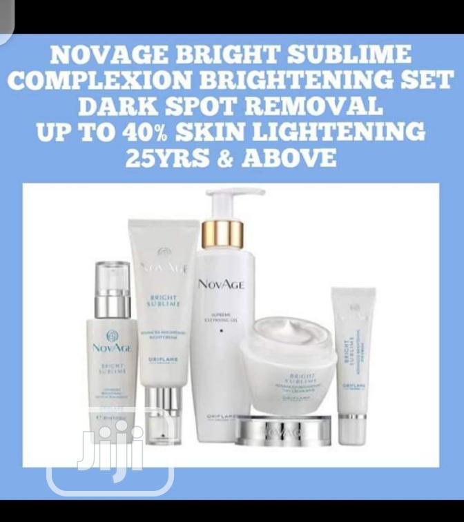 Orifame NOVAGE Bright Sublime Set | Skin Care for sale in Ojo, Lagos State, Nigeria