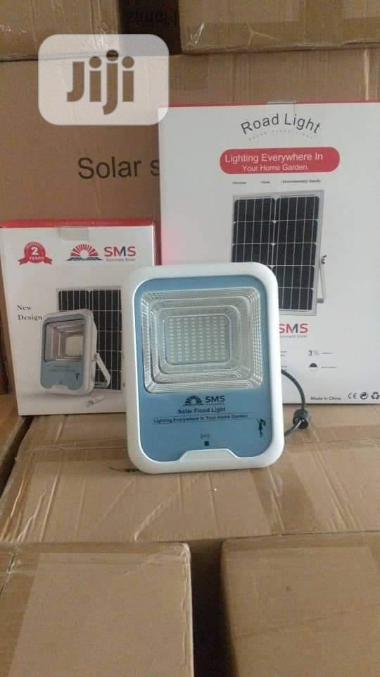 150w Solar Flood Light With Separate Panel