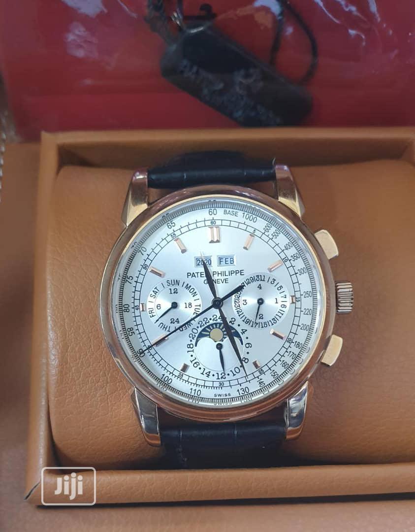 Original Patek Phillipe Designer Wrist Watch | Watches for sale in Magodo, Lagos State, Nigeria