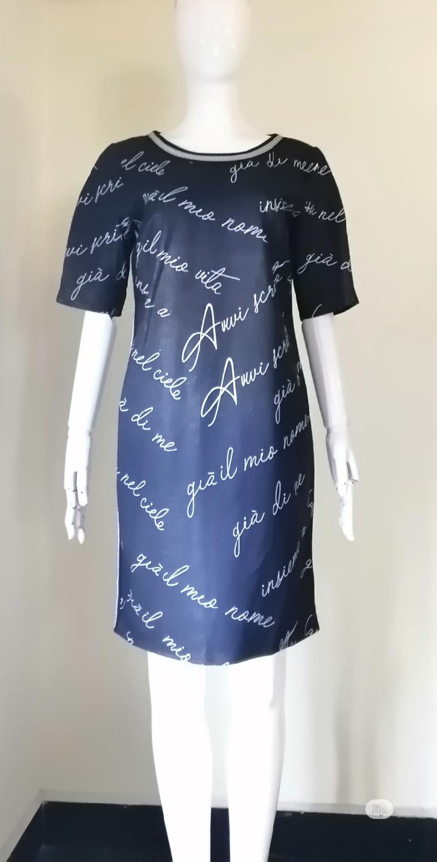 Archive: Dress Shift Blue Dress