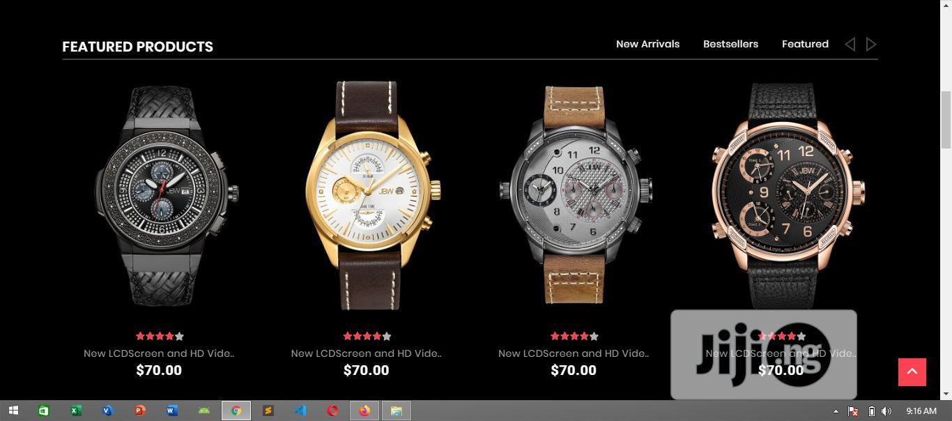 Archive: E-Commerce Website