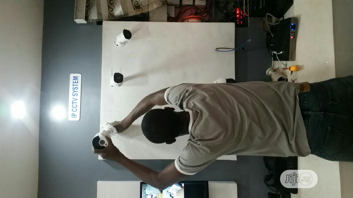 Wired And Wireless Cctv Cameras | Building & Trades Services for sale in Garki 2, Abuja (FCT) State, Nigeria