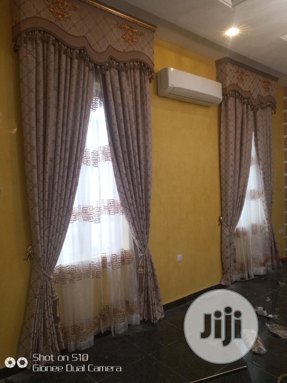 Complete Set of Turkish Designed Curtain