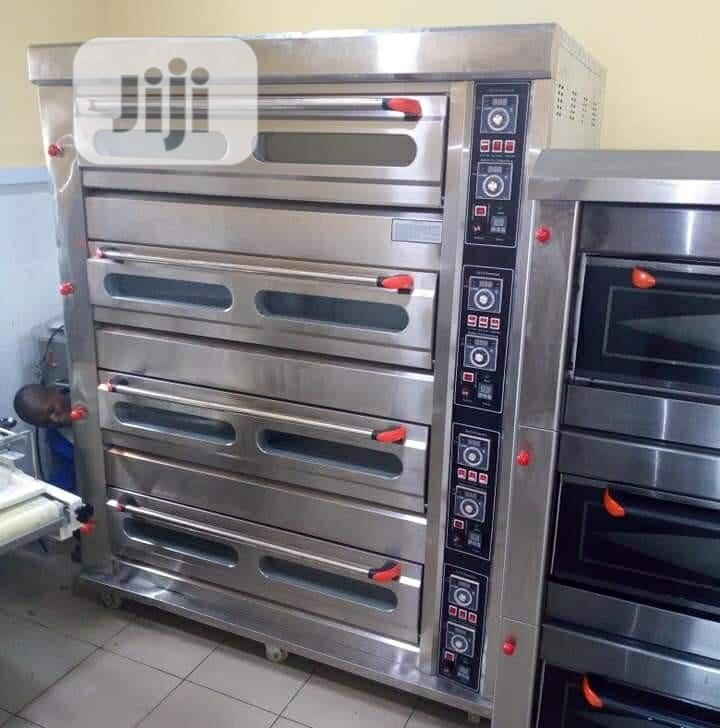 One Bag Gas Deck Oven 16trays.