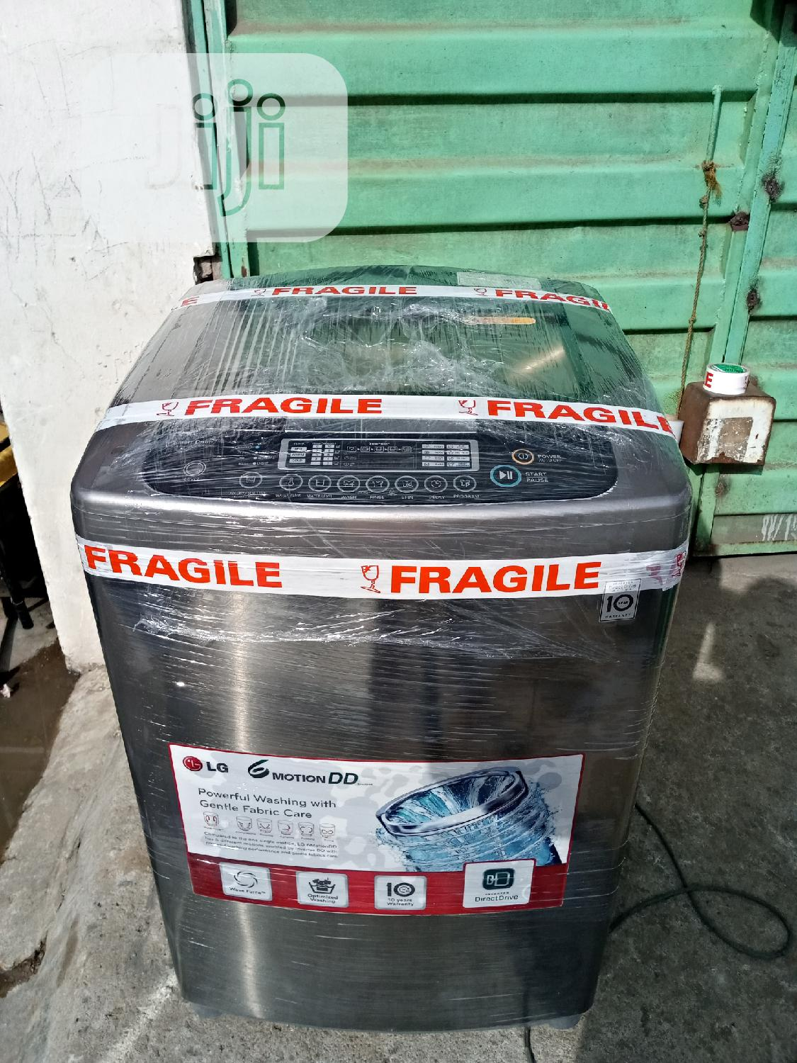 15kg LG Top Loader Washing and Spin Machine With One Year Warranty | Home Appliances for sale in Surulere, Lagos State, Nigeria
