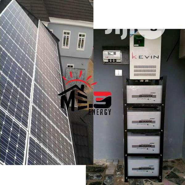 5kva Complete Solar Power 24/7 System (All in One)