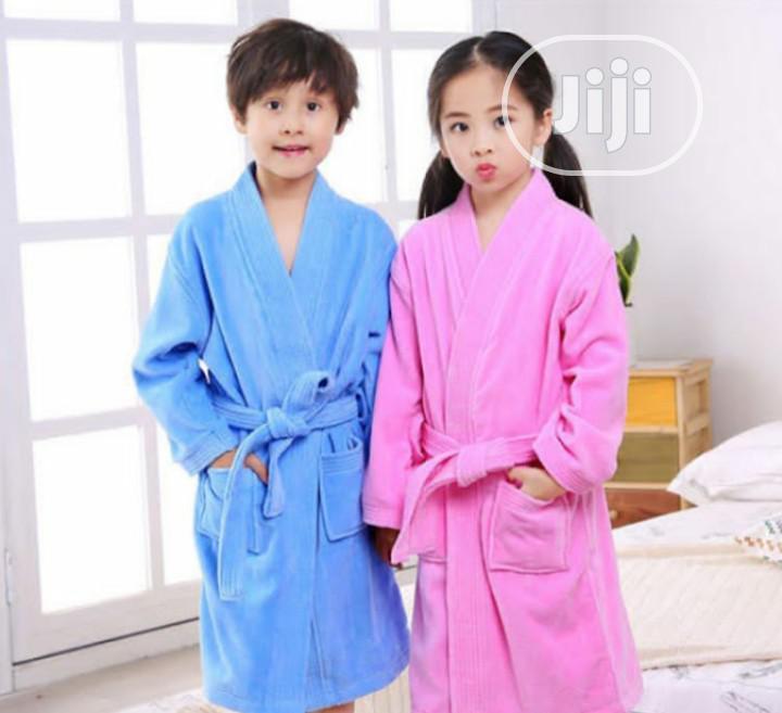 Children Lovely Bathrobe