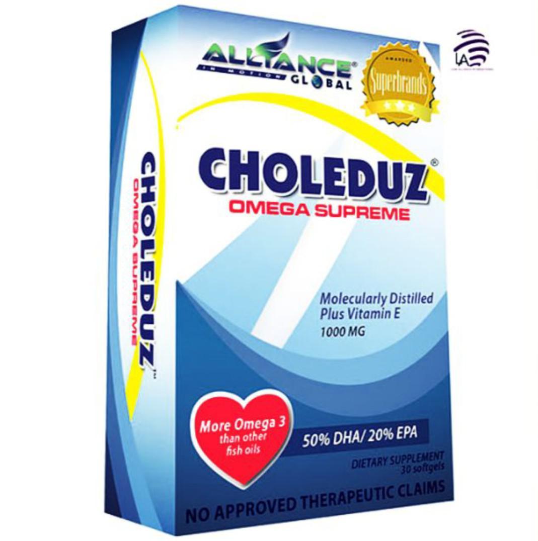 Choleduz Omega-3 for Heart Health Cholesterol Modulation
