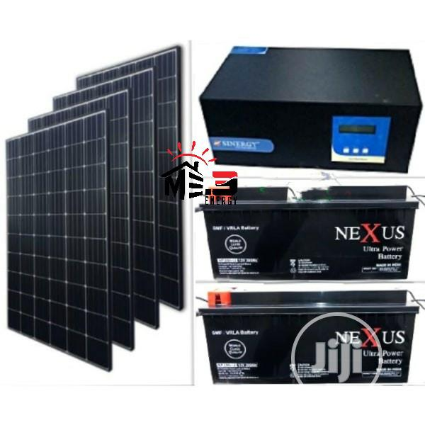 2kva 24v Solar Complete Solar Power System (All In One)