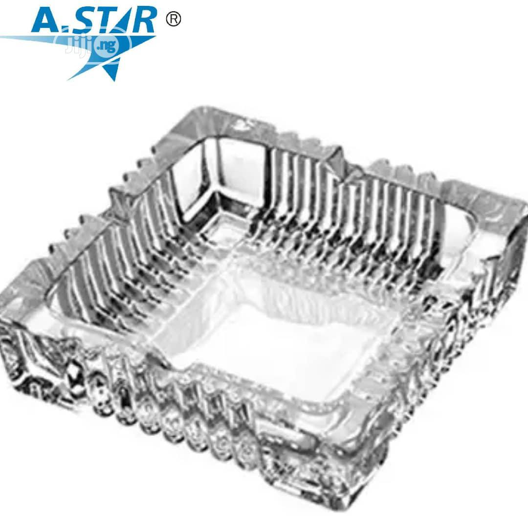 Glass Ash Tray | Home Accessories for sale in Ojo, Lagos State, Nigeria
