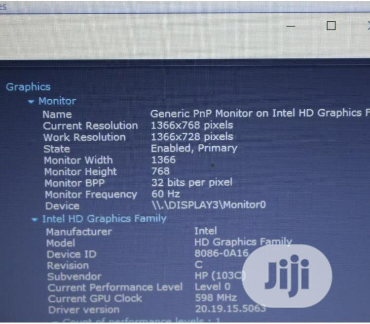 Hp Folio Core I5 8gb Ram 500gb HDD With Charger.   Computer & IT Services for sale in Ikeja, Lagos State, Nigeria