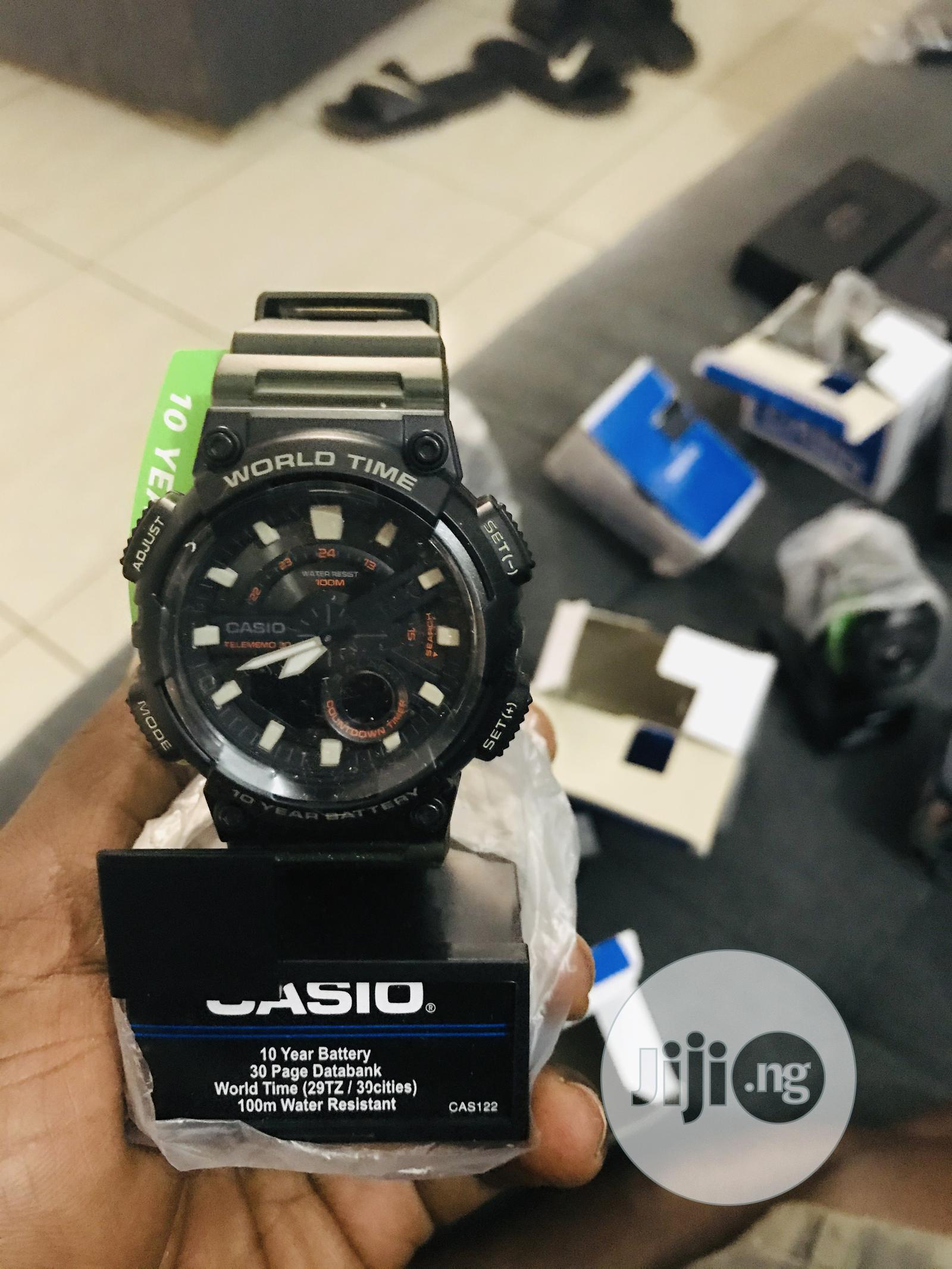 Casio Wristwatch | Watches for sale in Central Business Dis, Abuja (FCT) State, Nigeria
