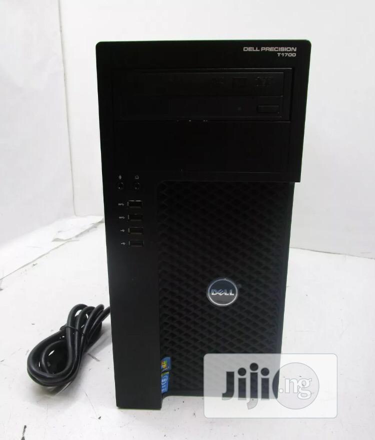 Dell Precision T1700 Desktop CORE I7-4770 @3.4ghz 16gb RAM 2tb HDD.