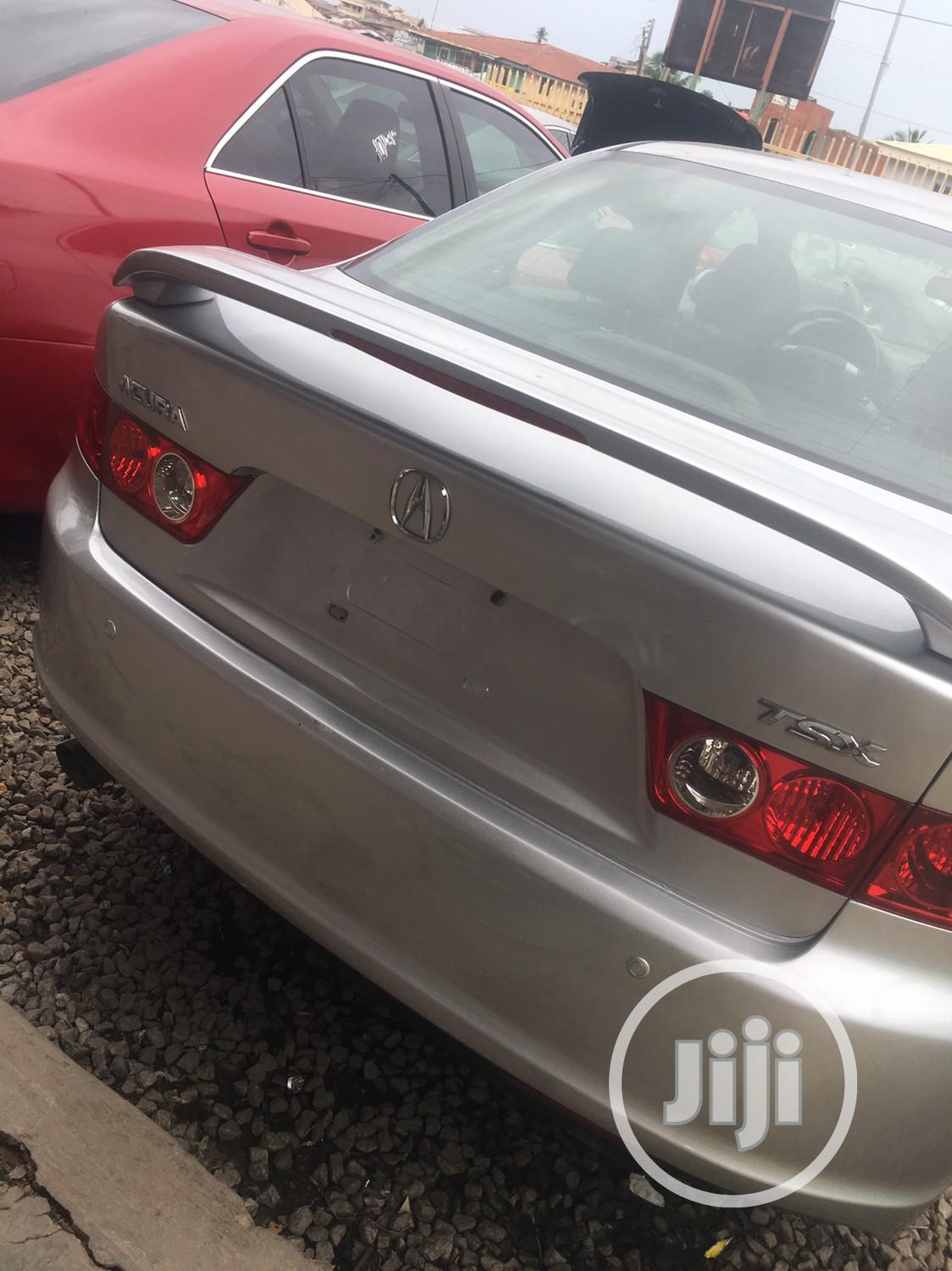 Archive: Acura TSX Automatic 2005 Silver