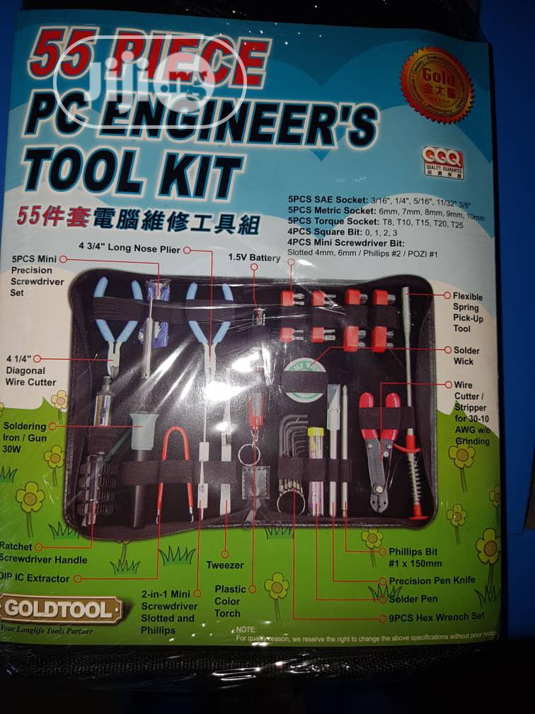 Gold Tools 55 Pieces PC Engineering Tool Kit