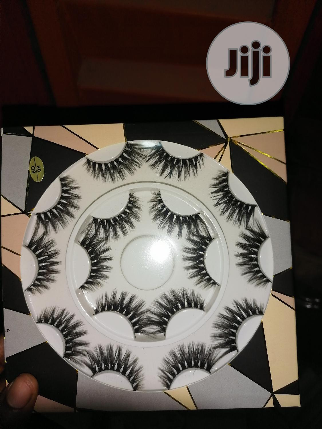 10 In 1 Human Hair Lashes | Makeup for sale in Ikeja, Lagos State, Nigeria