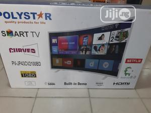 """Polystar 43""""Curved Smart Android TV   TV & DVD Equipment for sale in Abuja (FCT) State, Wuse"""