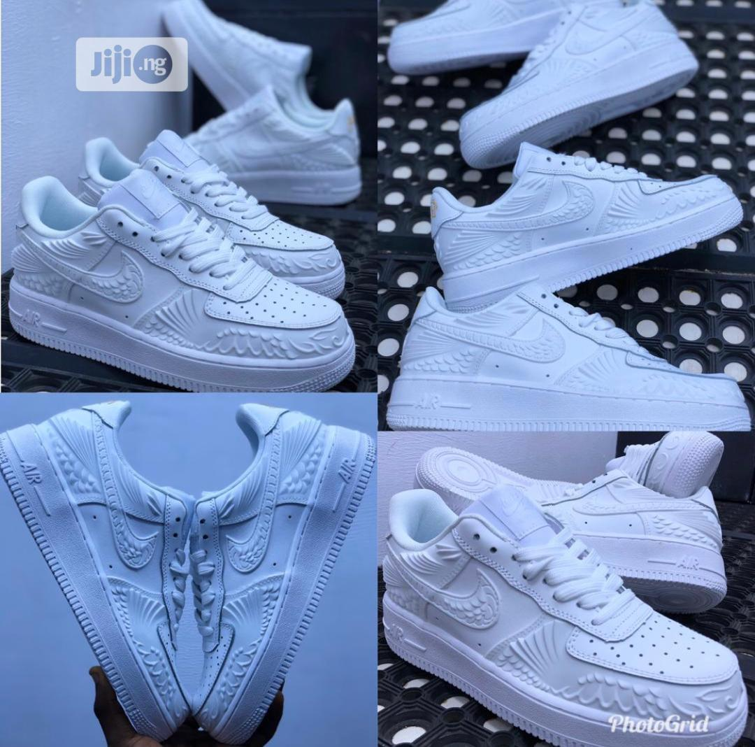 Airforce 1 All-white | Shoes for sale in Lekki Phase 1, Lagos State, Nigeria