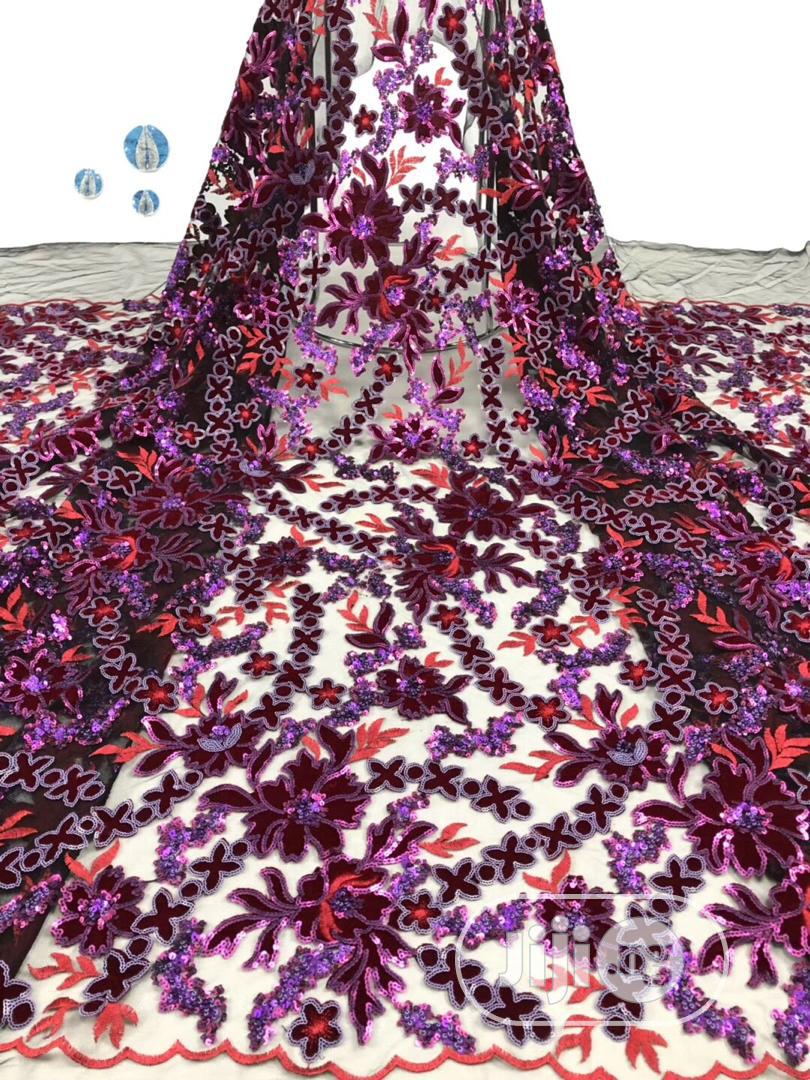 Elegant And Gorgeous Lace Fabrics   Clothing for sale in Ikeja, Lagos State, Nigeria
