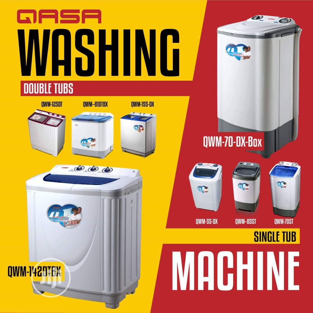 Qasa and Duravolt Washing Machine | Home Appliances for sale in Ojo, Lagos State, Nigeria
